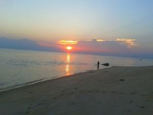 Sunset di Pantai Tanjung Kaliyan