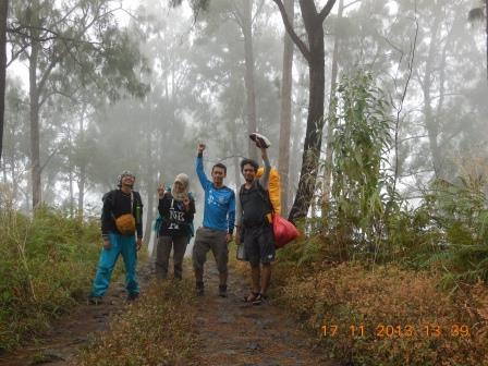 Perjalanan turun Pondokan - Basecamp
