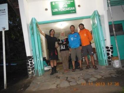 Sampai di Basecamp